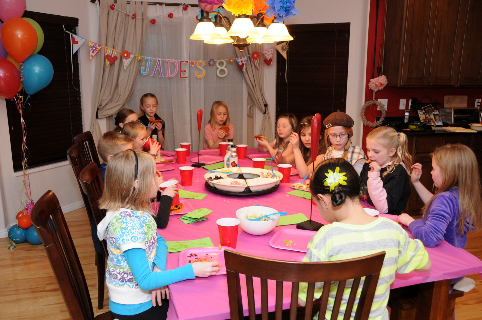 8 year old birthday party « the family trifecta