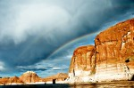 Lake Powell Double Rainbow